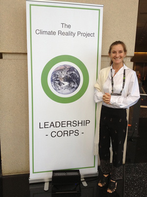 Climate reality corps