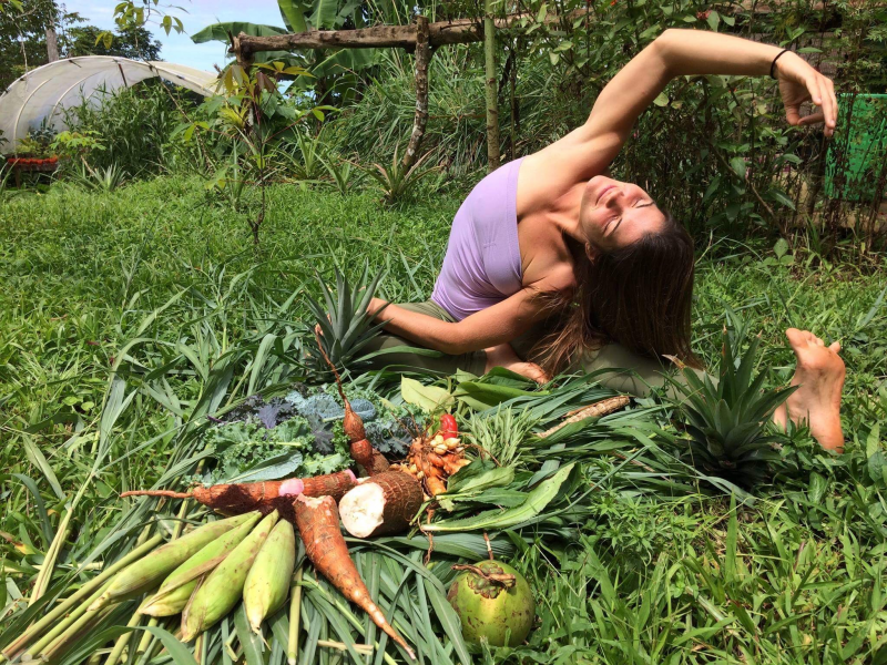 Amber Hagberg Yoga Surf Retreats